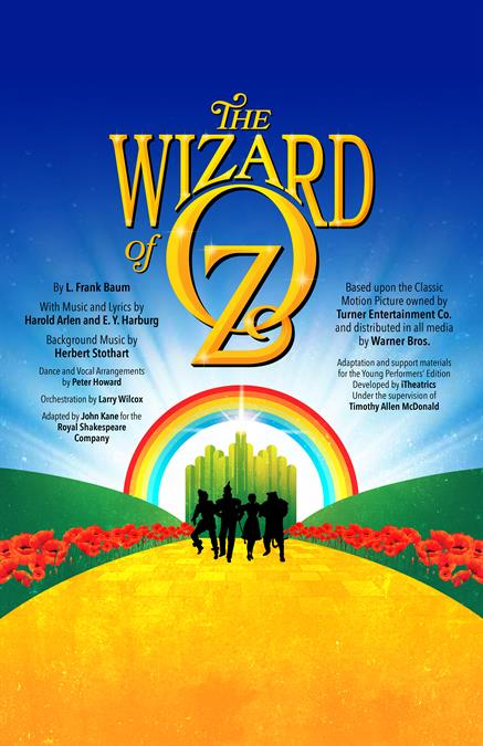 The Wizard of Oz (Young Performers' Edition) Theatre Poster