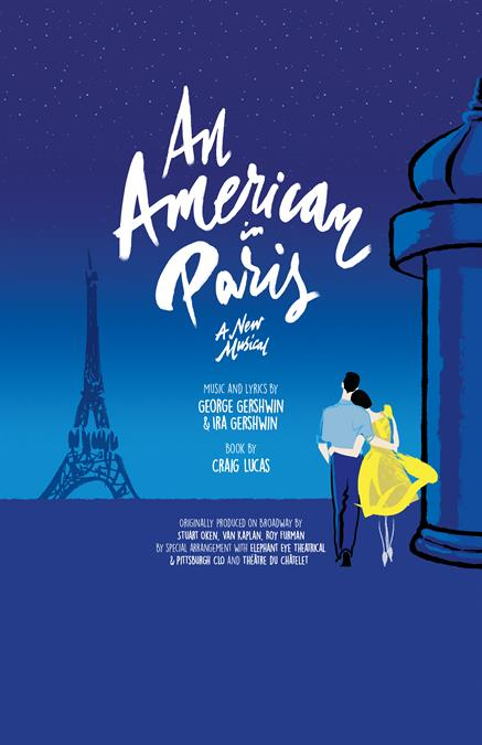 An American in Paris Theatre Poster