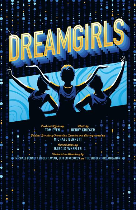 Dreamgirls Theatre Poster