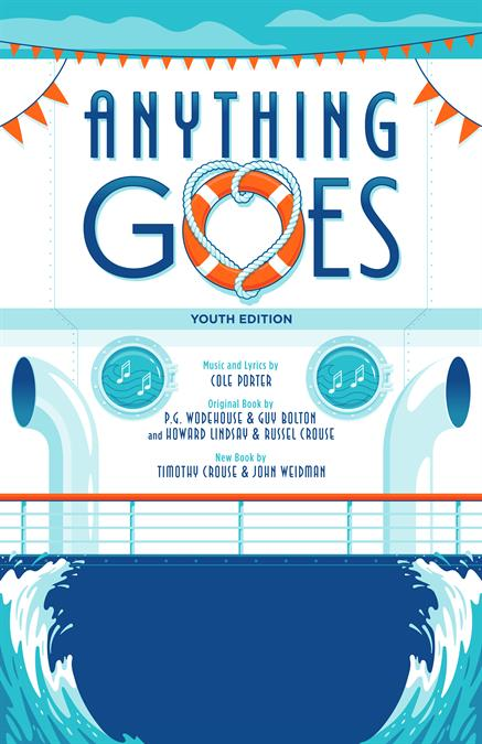 Anything Goes (Young Performers' Edition) Theatre Poster