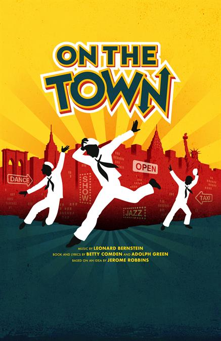 On The Town Theatre Poster