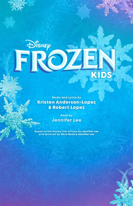 Disney's Frozen KIDS Theatre Poster