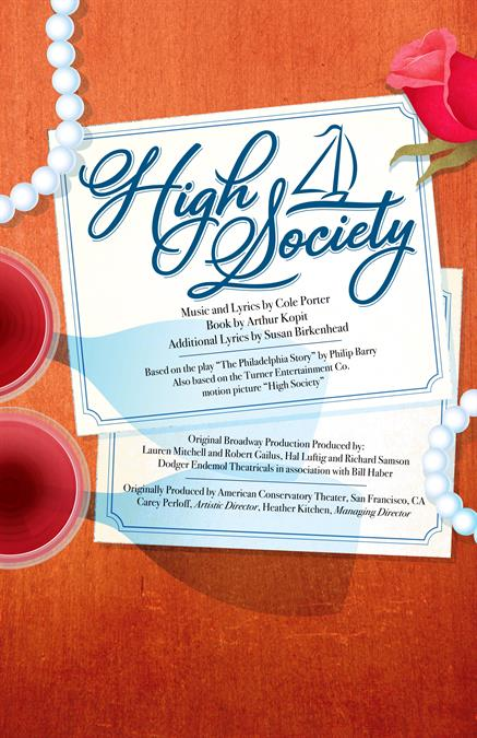 High Society Theatre Poster