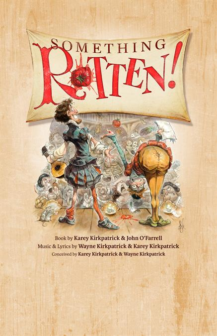 Something Rotten Theatre Poster