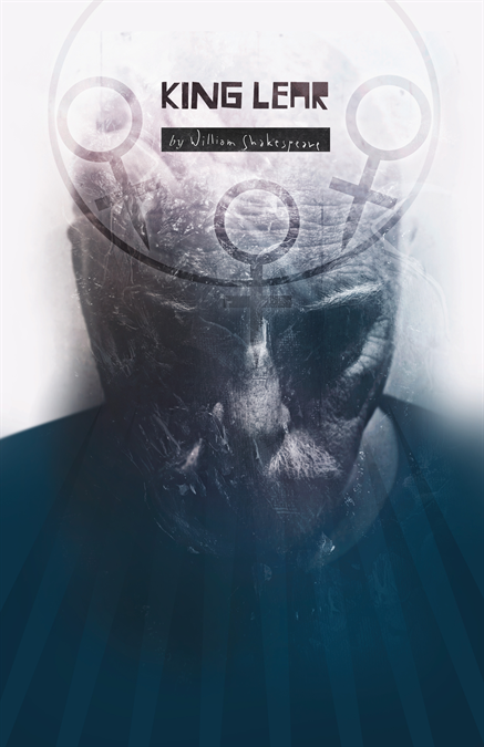 King Lear Theatre Poster