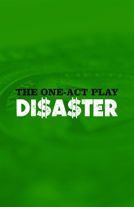 The One-Act Play Disaster Theatre Poster