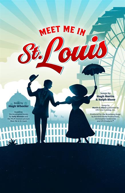 Meet Me In St. Louis Theatre Poster