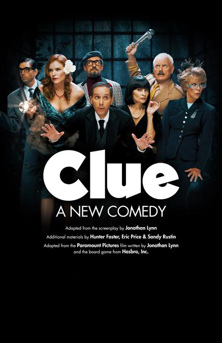 Clue: A New Comedy Theatre Poster