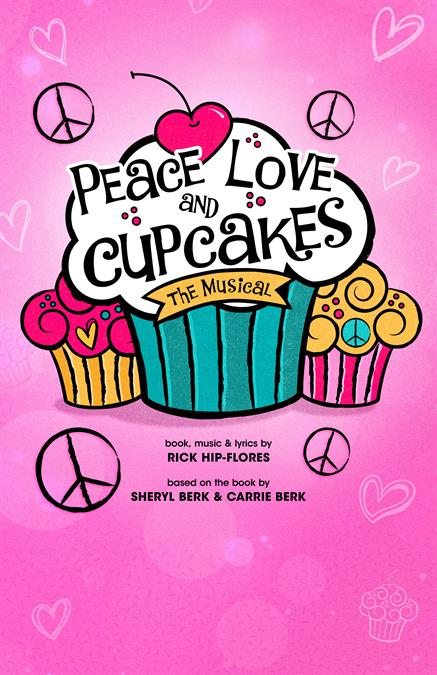 Peace, Love and Cupcakes Theatre Poster
