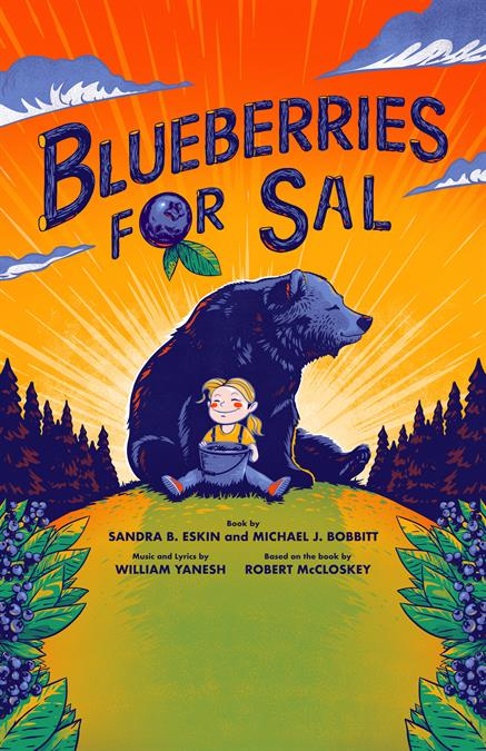 Blueberries for Sal Theatre Poster