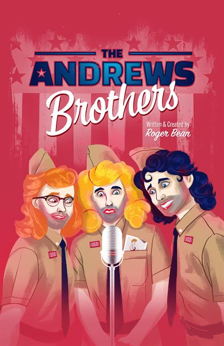 The Andrews Brothers Theatre Poster