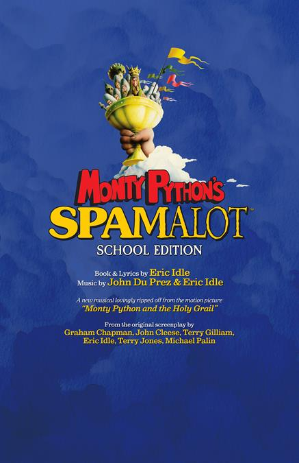 Monty Python's Spamalot (School Edition) Theatre Poster