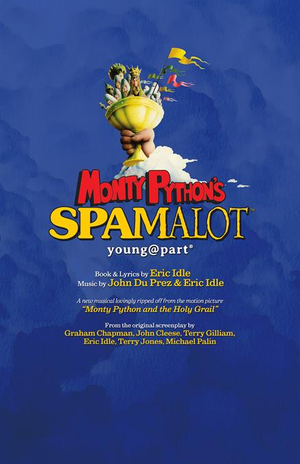 Monty Python's Spamalot (Young@Part) Theatre Poster