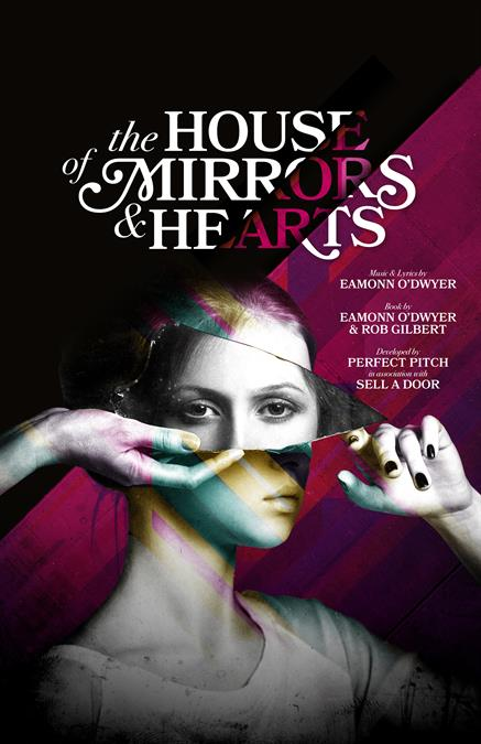 The House of Mirrors and Hearts Theatre Poster