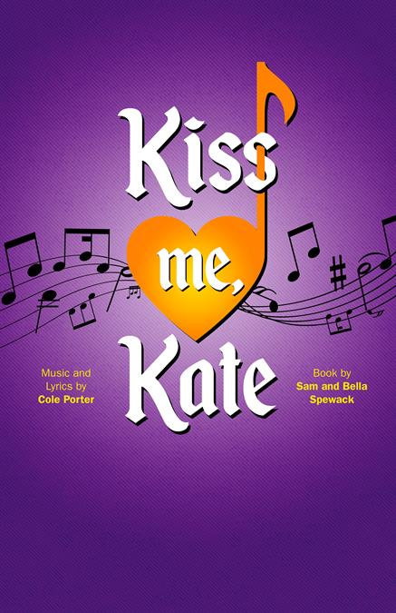 Kiss Me, Kate Theatre Poster