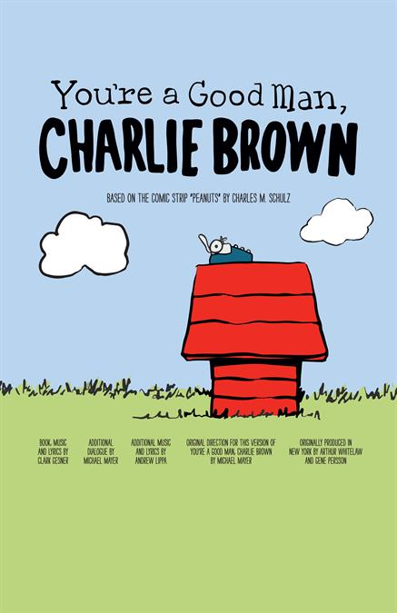 You're a Good Man, Charlie Brown Poster Design