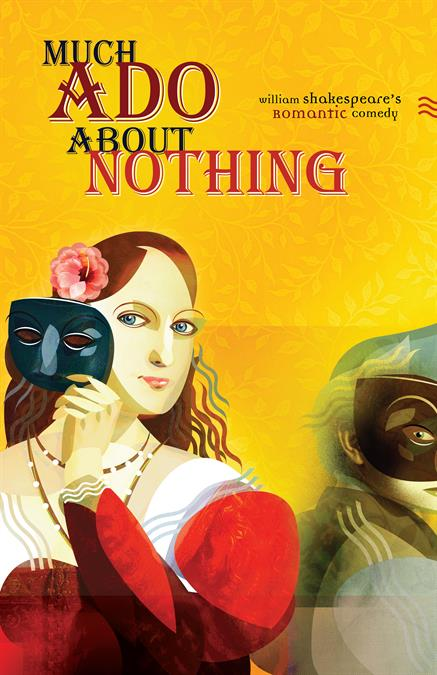 Much Ado About Nothing Theatre Poster
