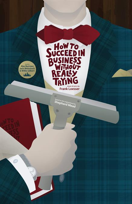 How to Succeed in Business without Really Trying Poster Design