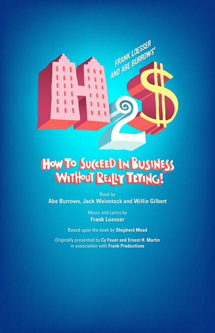 How to Succeed in Business without Really Trying Theatre Poster