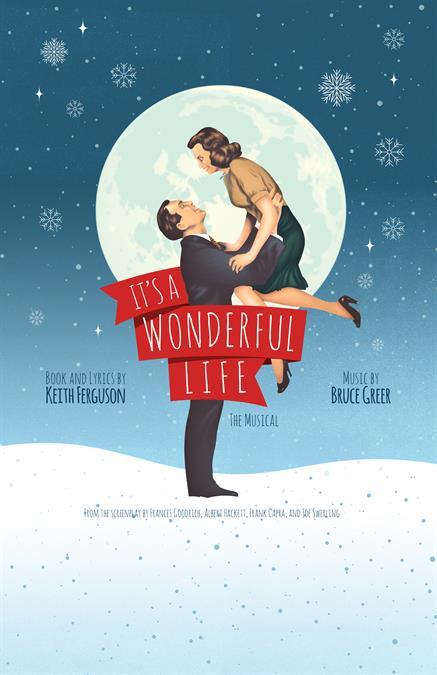 It's a Wonderful Life Theatre Poster