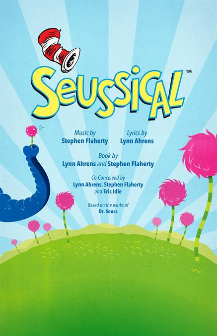 Seussical Theatre Poster