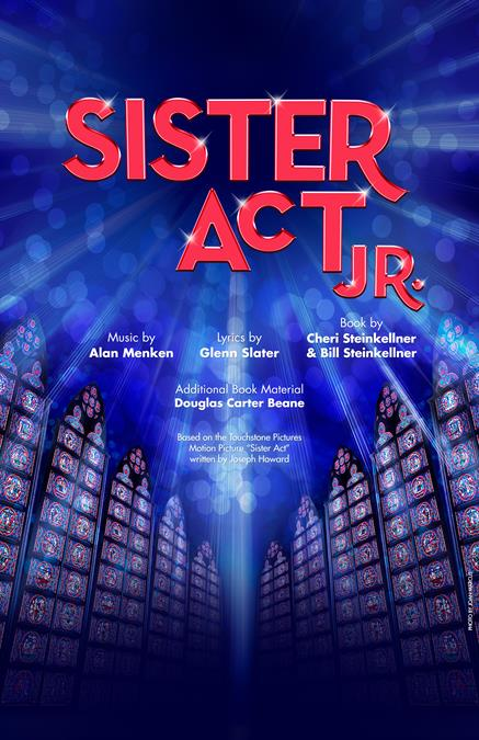 Sister Act JR. Theatre Poster