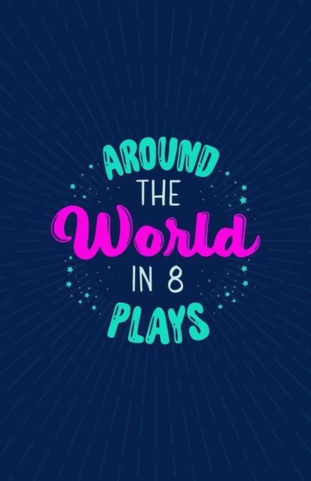 Around the World in 8 Plays Theatre Logo Pack