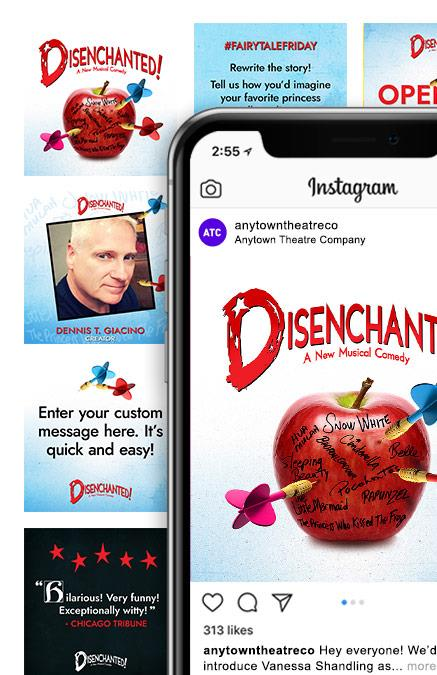 Disenchanted (High School Edition) Theatre Logo Pack