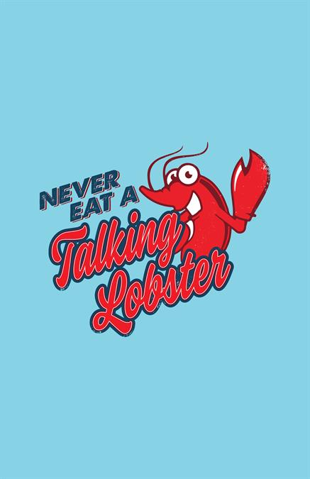 Never Eat a Talking Lobster Theatre Logo Pack