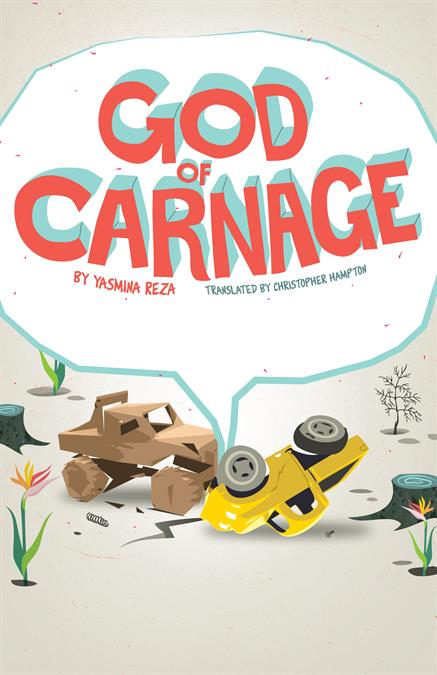 God Of Carnage Theatre Poster