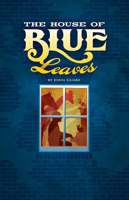 The House of Blue Leaves Theatre Poster