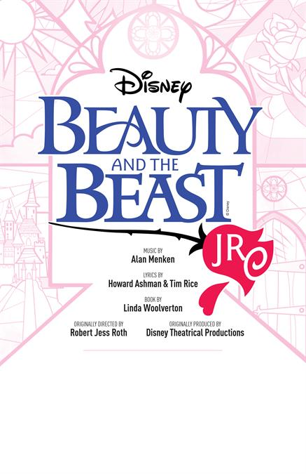 Beauty and the Beast JR. Theatre Poster