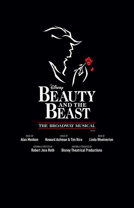 Beauty and the Beast Theatre Poster