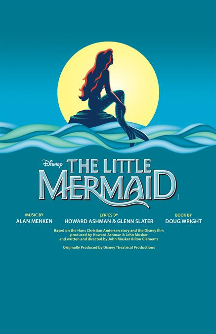 The Little Mermaid Theatre Poster