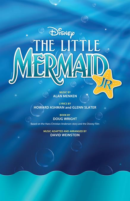 The Little Mermaid JR. Theatre Poster