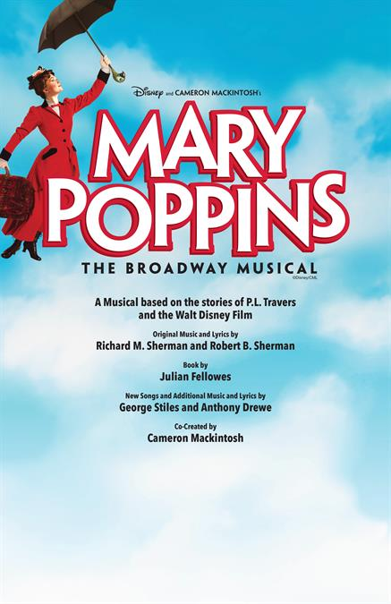 Mary Poppins Theatre Poster