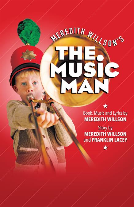 The Music Man Theatre Poster