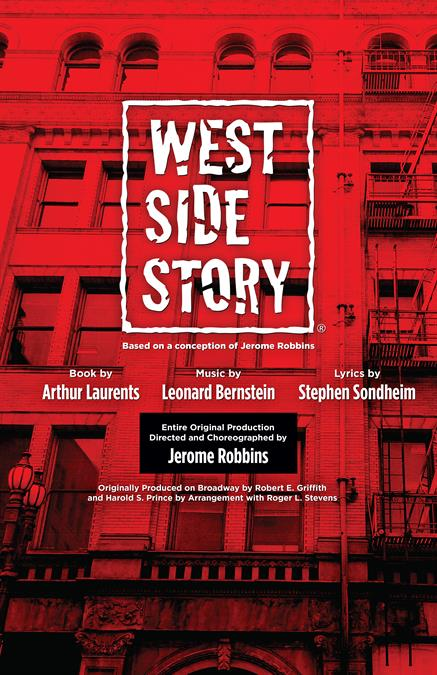 West Side Story Theatre Poster