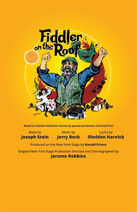 Fiddler on the Roof Theatre Poster