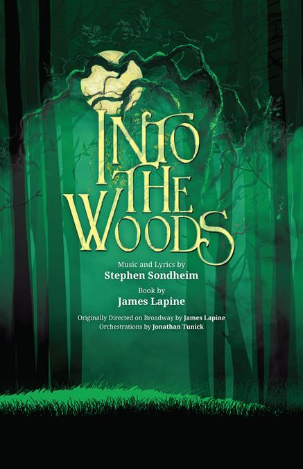 Into The Woods Theatre Poster