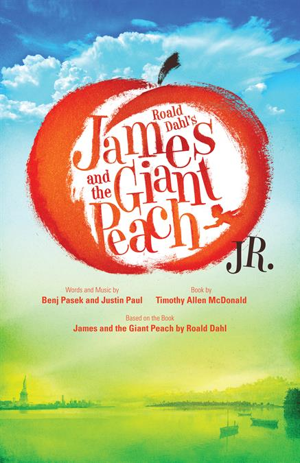 James and the Giant Peach JR. Theatre Poster