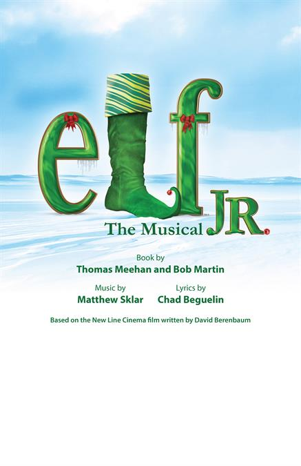 Elf JR. Theatre Poster