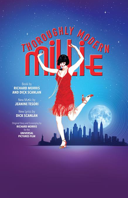Thoroughly Modern Millie Theatre Poster