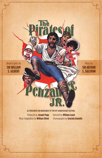 The Pirates of Penzance JR. Theatre Poster