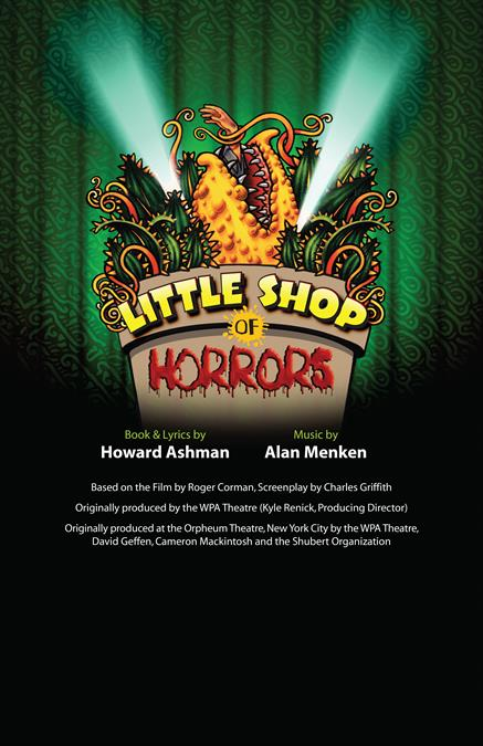 Little Shop of Horrors Theatre Poster