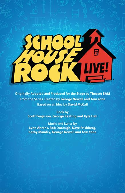 Schoolhouse Rock Live! Theatre Poster