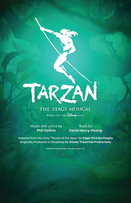 Tarzan: The Stage Musical Theatre Poster