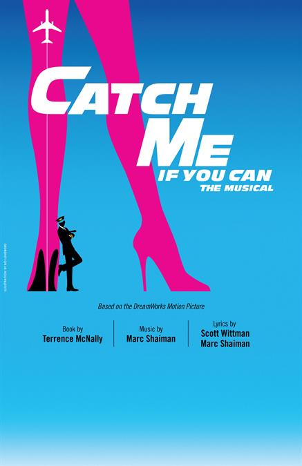 Catch Me If You Can Theatre Poster