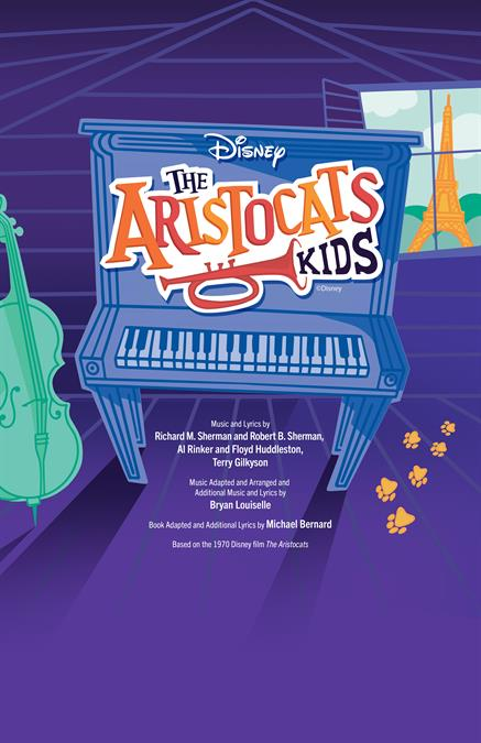 Aristocats KIDS Theatre Poster