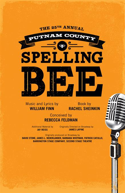 The 25th Annual Putnam County Spelling Bee Theatre Poster